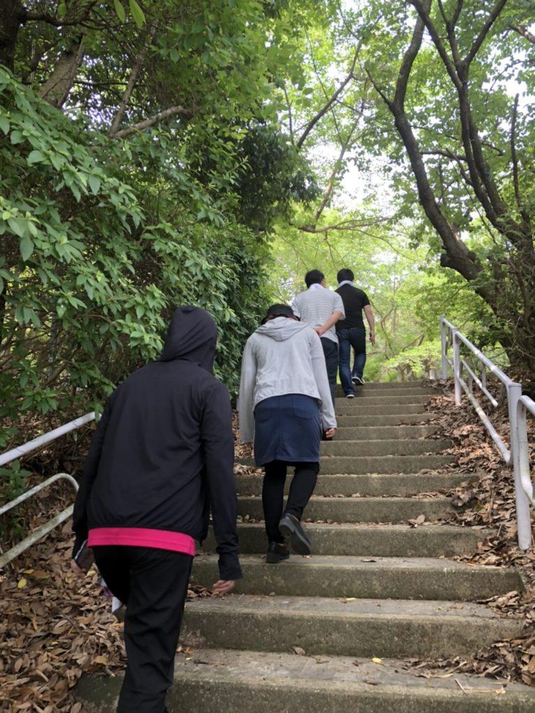 リワークデイケア 散歩 天仲寺公園